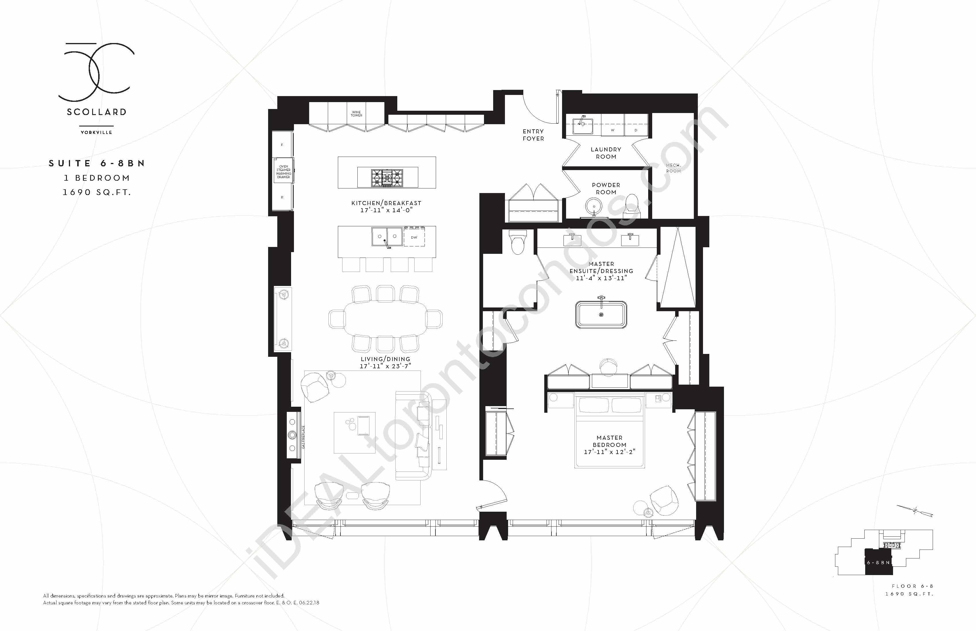 Suite 6-8 BN | 1 Bedroom