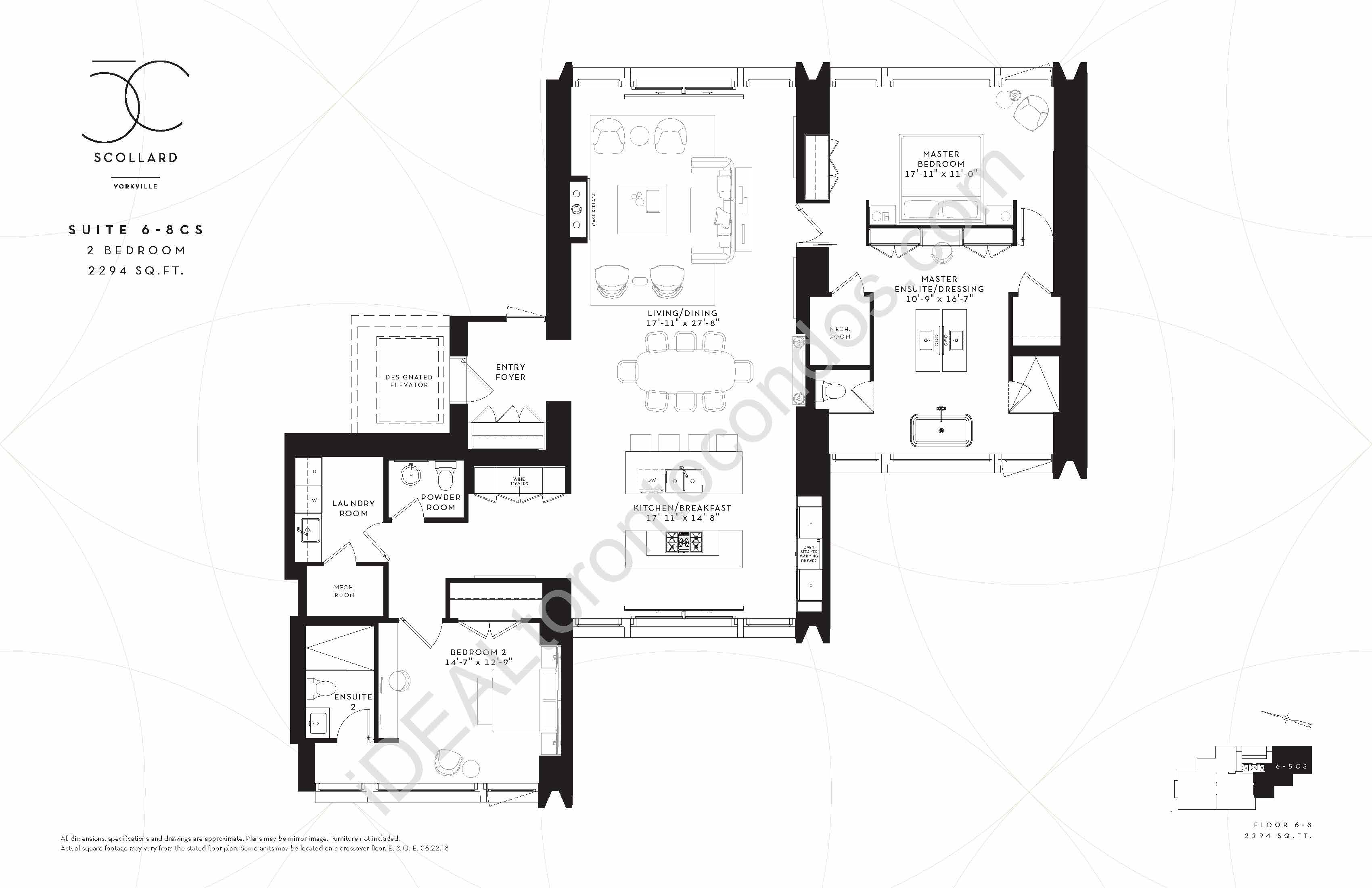 Suite 6-8 CS | 2 Bedroom