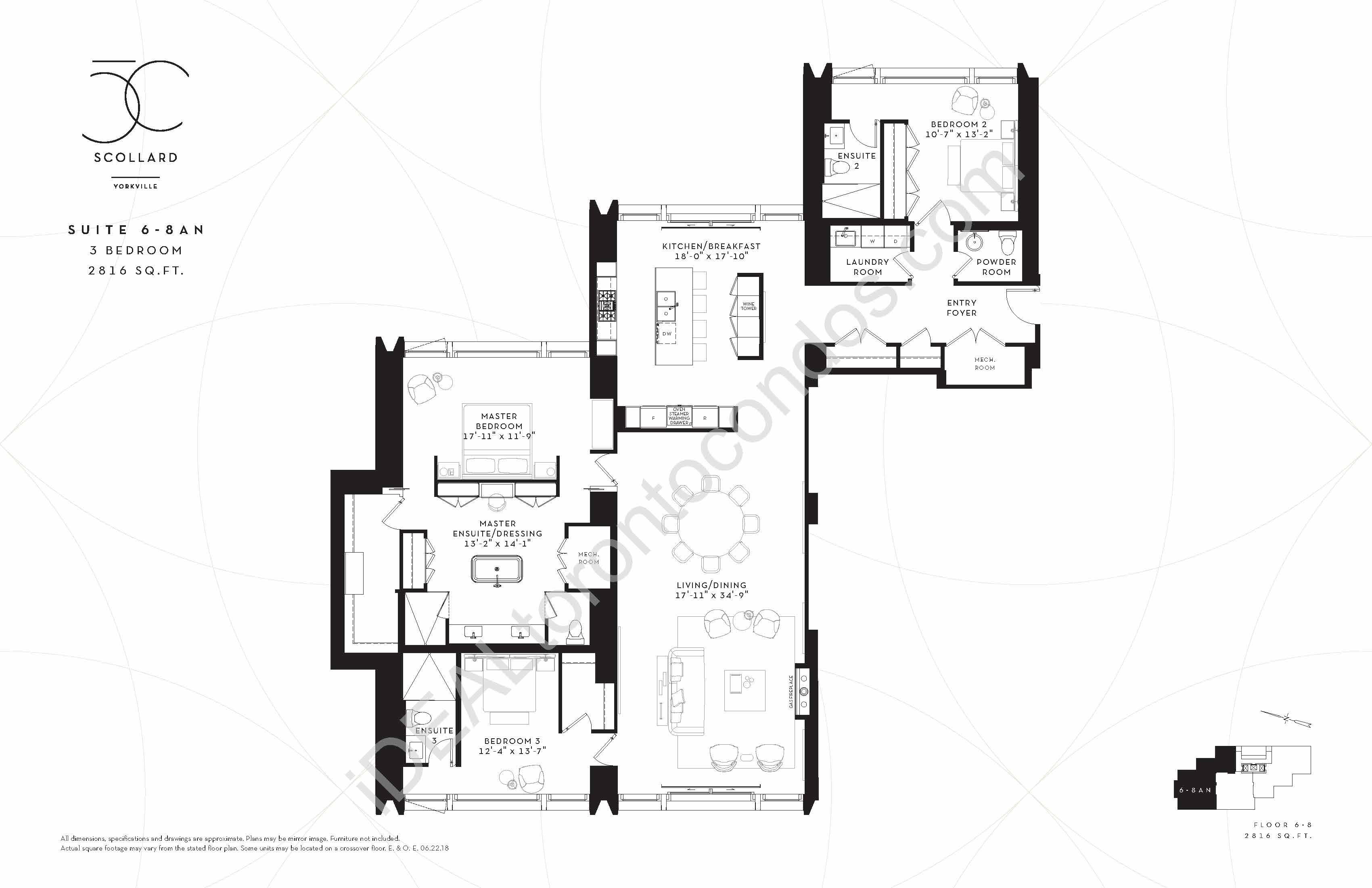 Suite 6-8 AN | 3 Bedroom