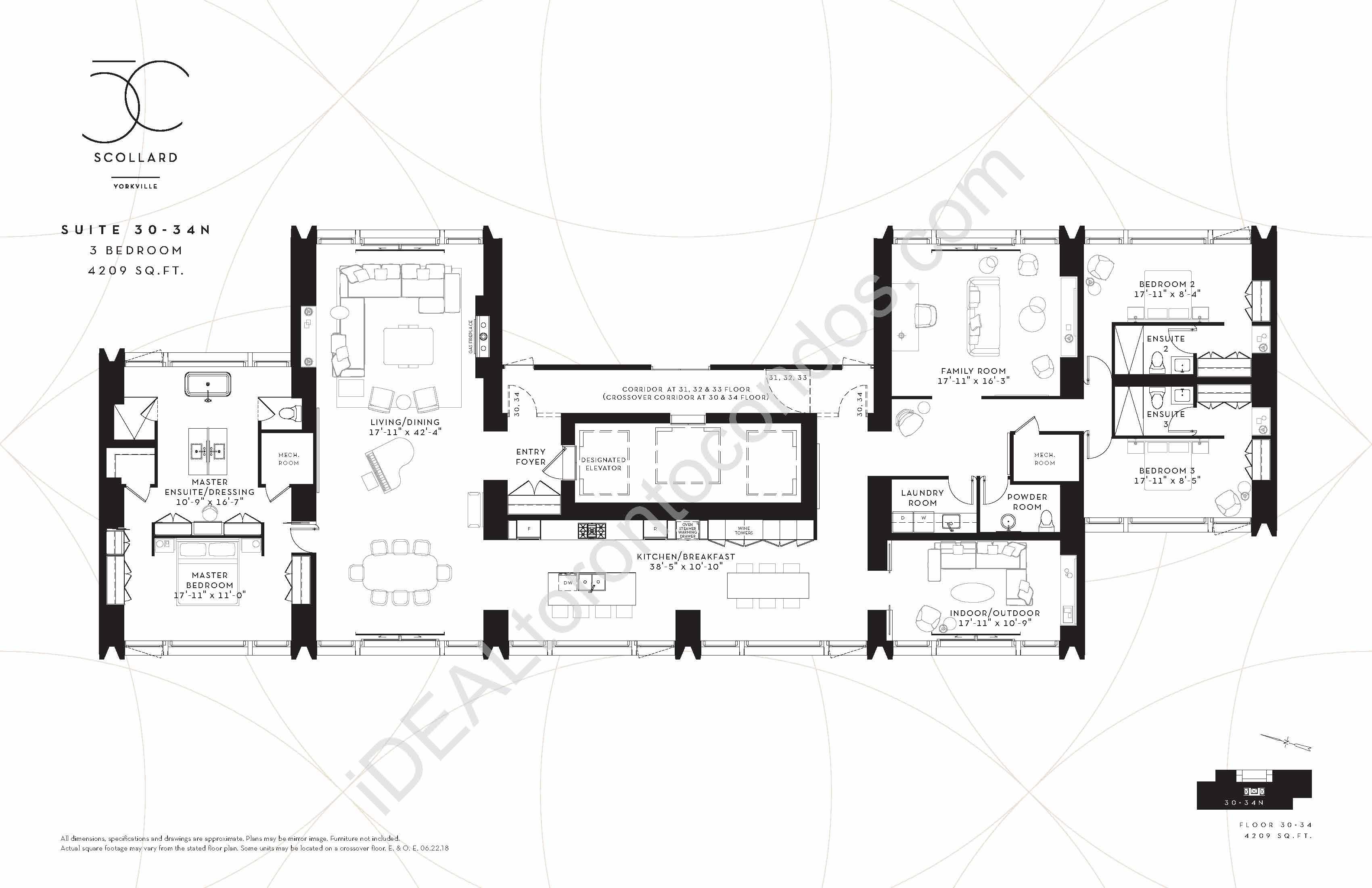 Suite 30-34 N | 3 Bedroom