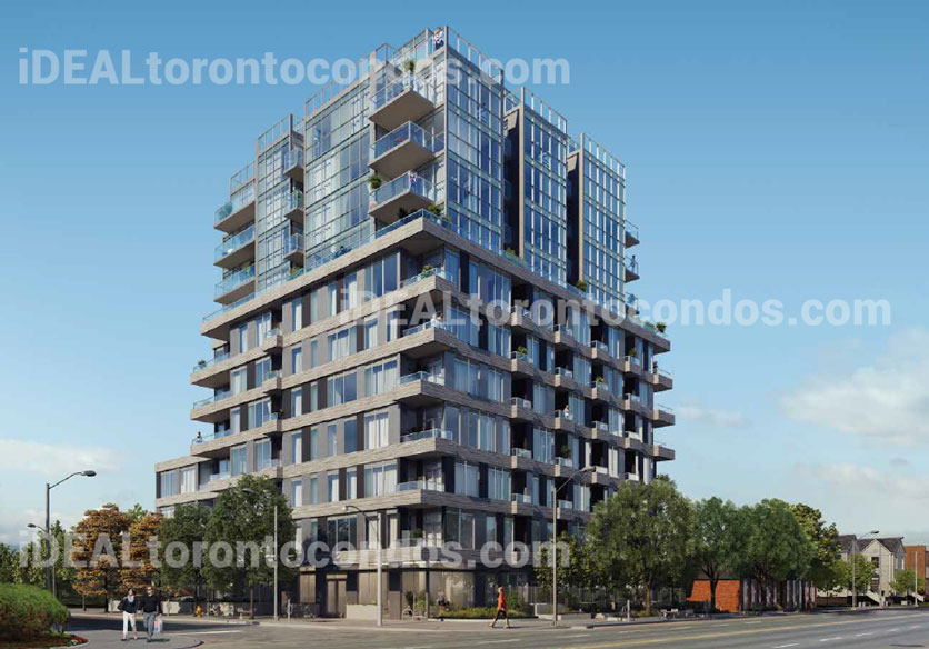 The Cardiff Toronto building