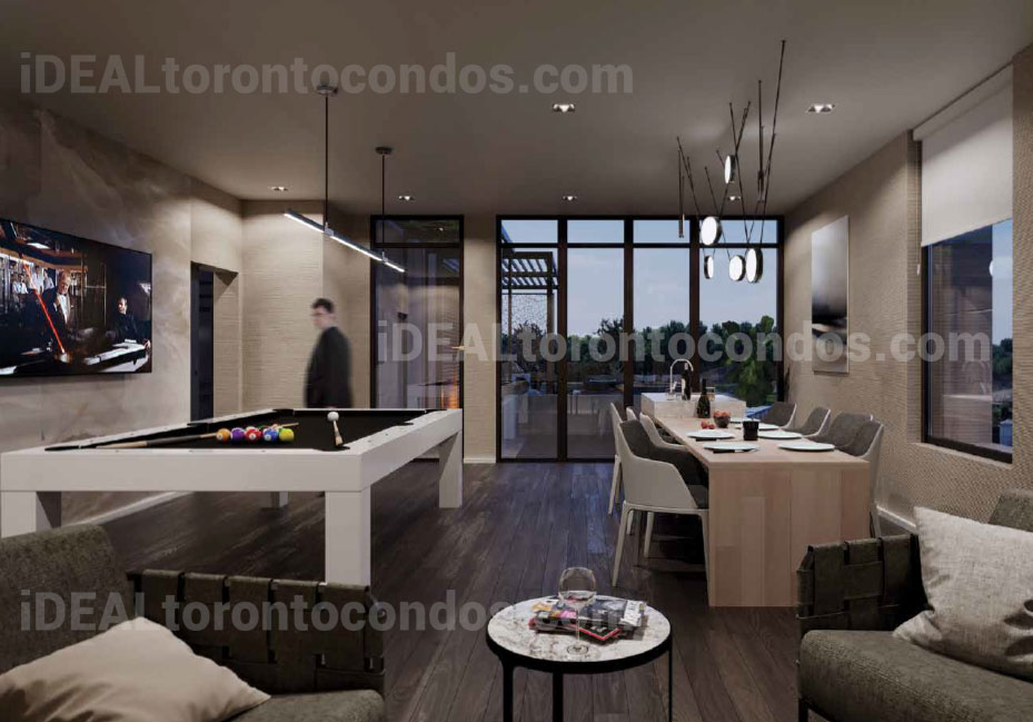 The Cardiff Toronto living Room