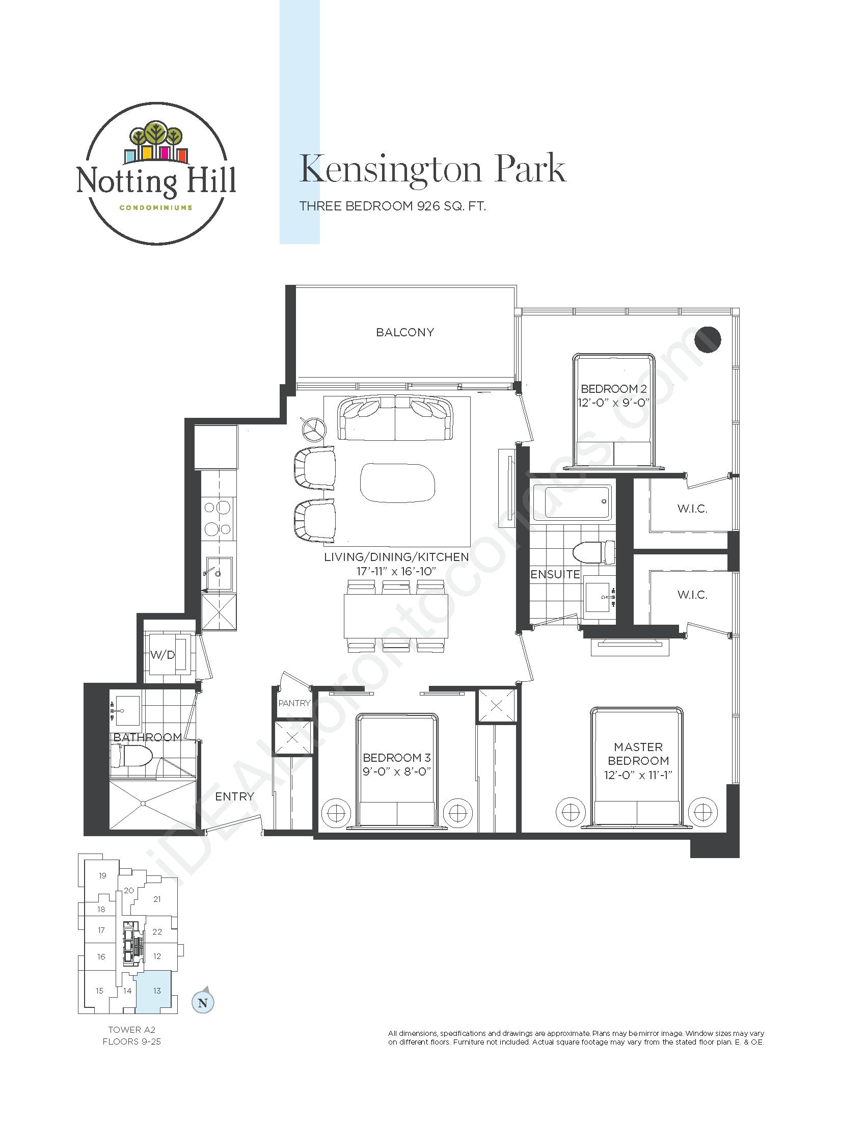 Kensington Park - Three bedroom
