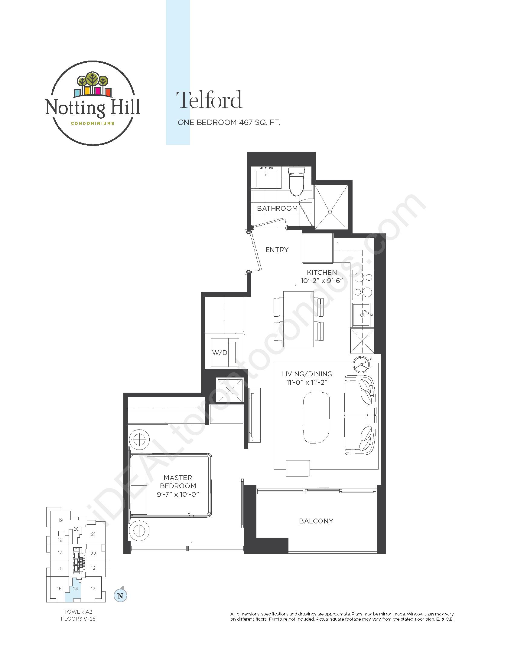 Telford - One bedroom
