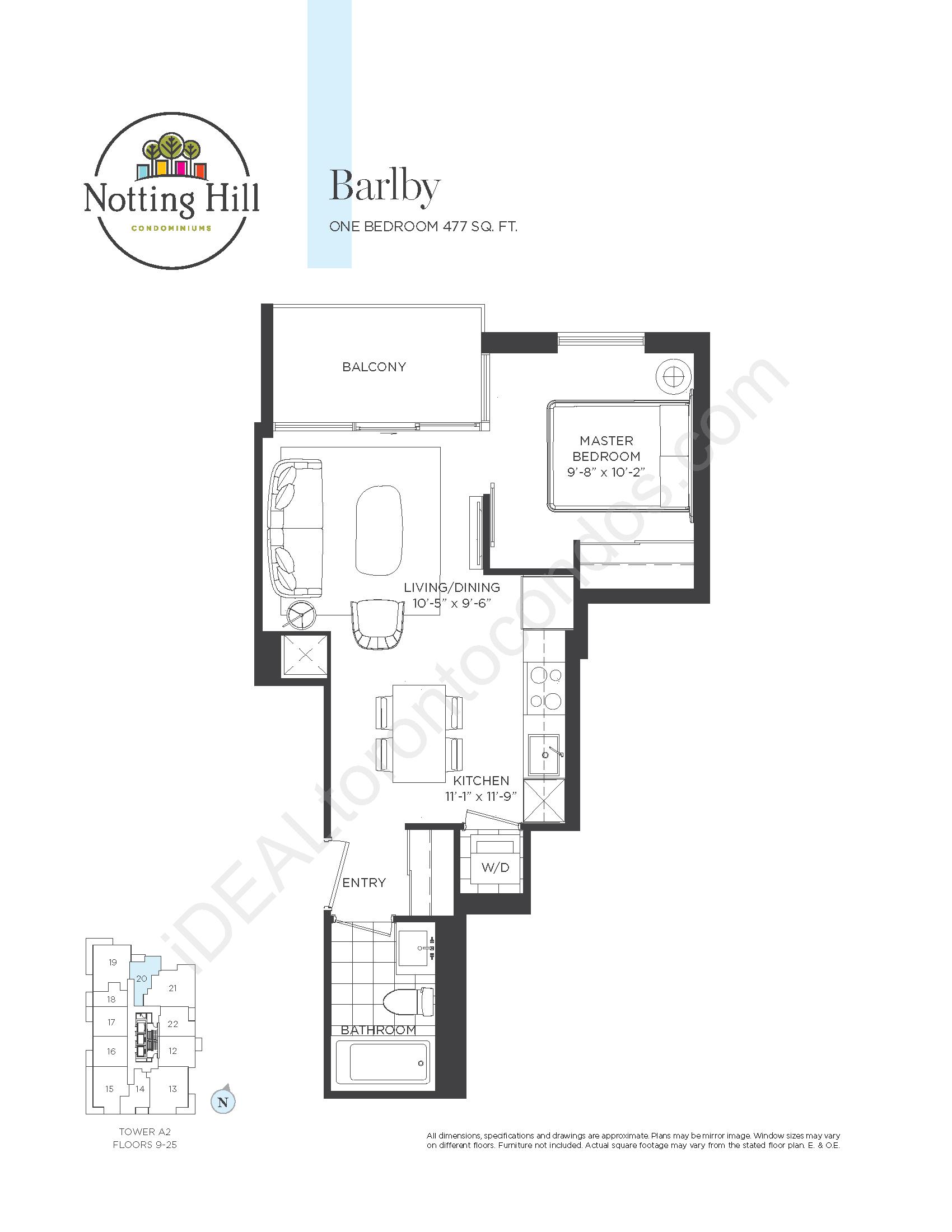 Barlby - One bedroom