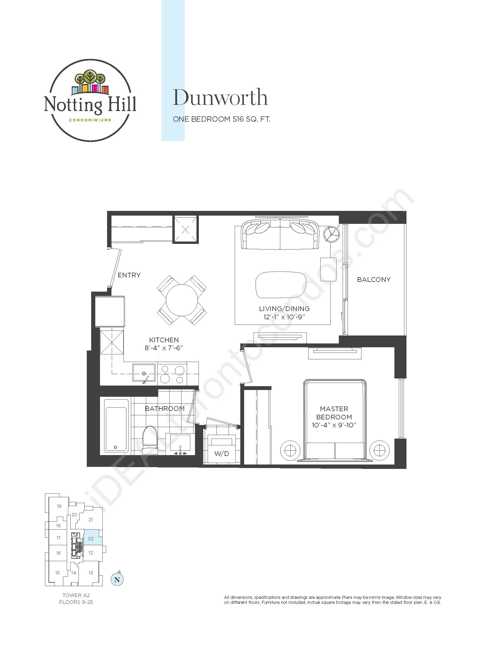 Dunworth - One bedroom