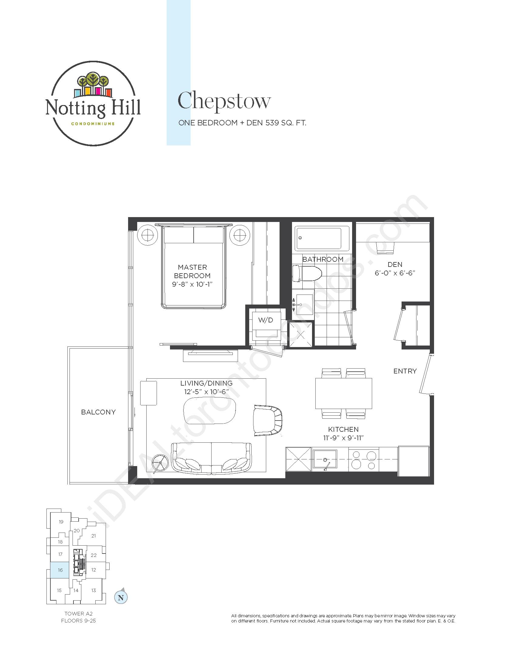 Chepstow - One bedroom + den