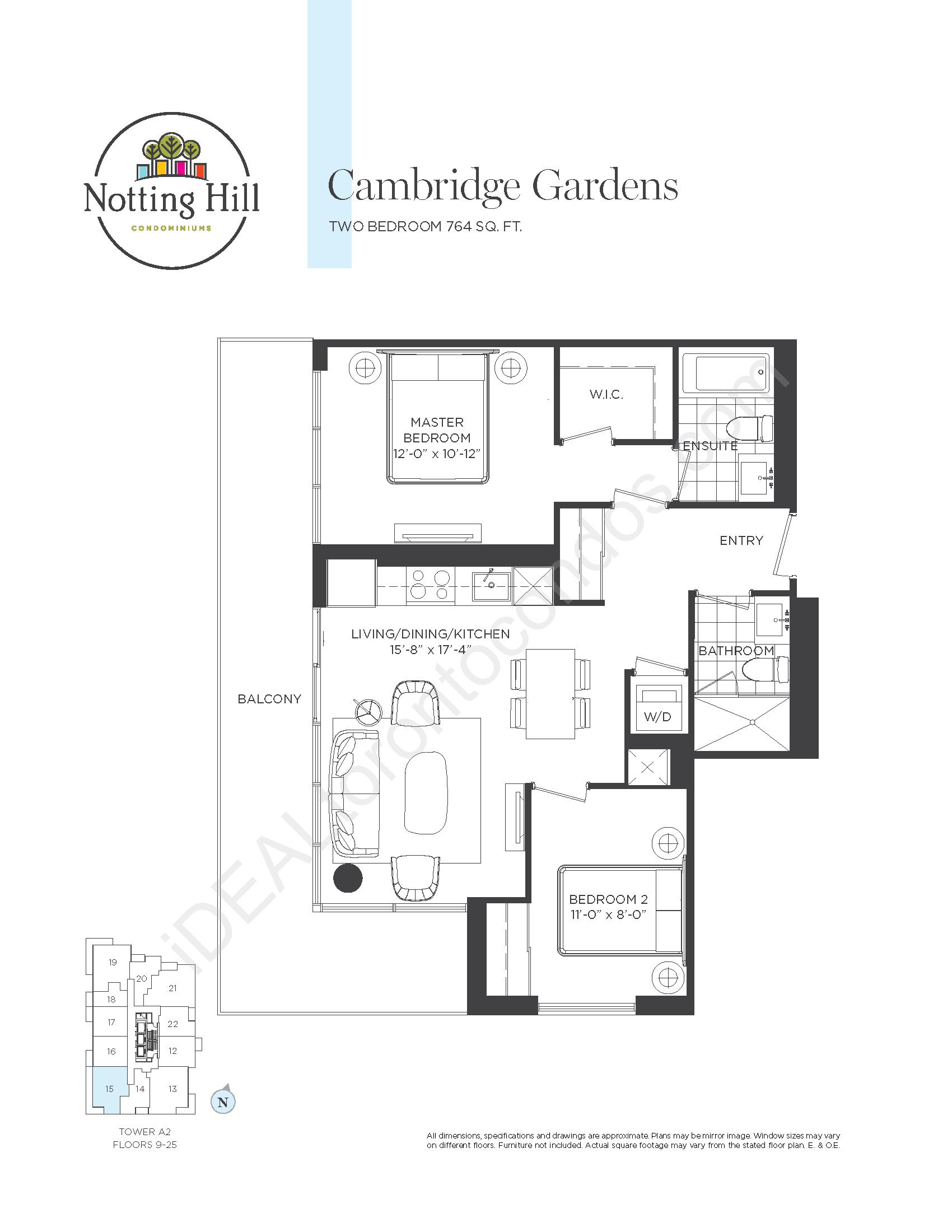 Cambridge Gardens - Two bedrooms