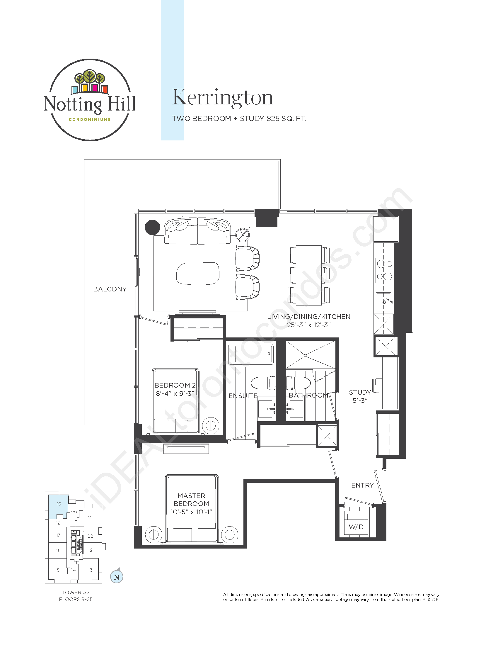 Kerrington - Two bedrooms + study
