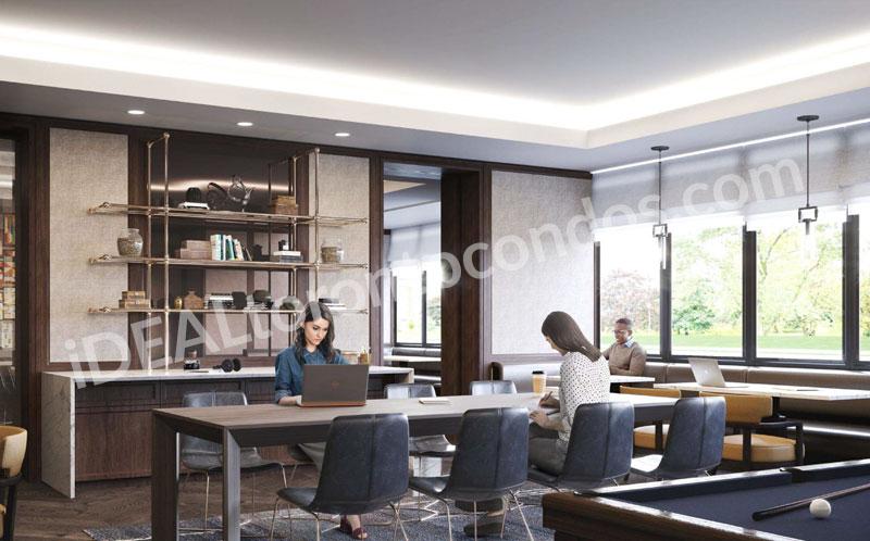 Notting-Hill-Condos-biliard-room