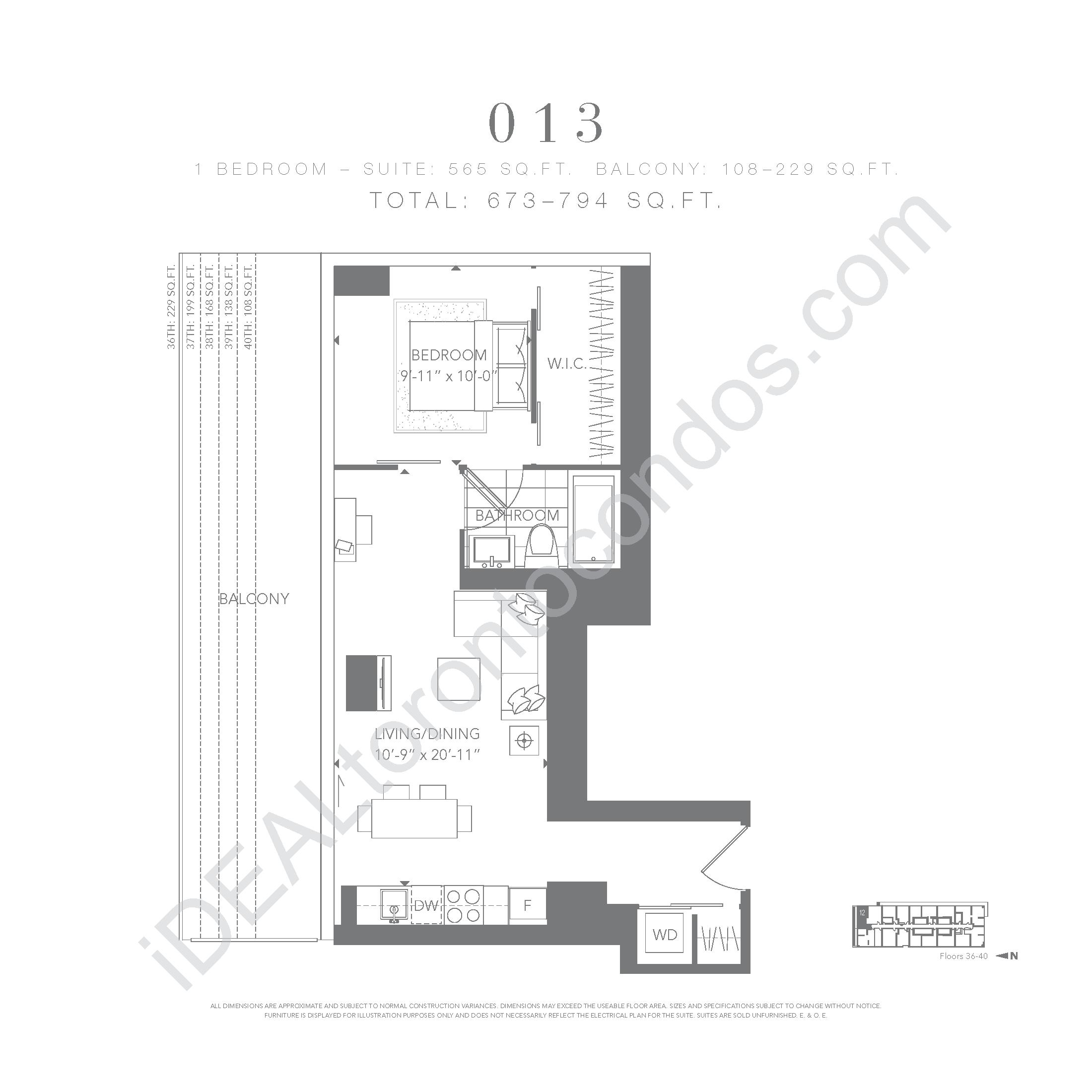 1 bedroom 013