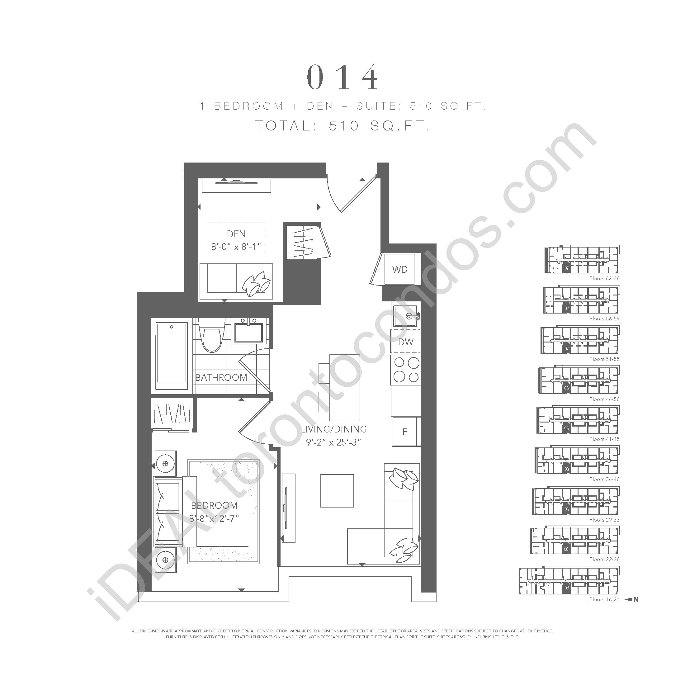 1 bedroom 014