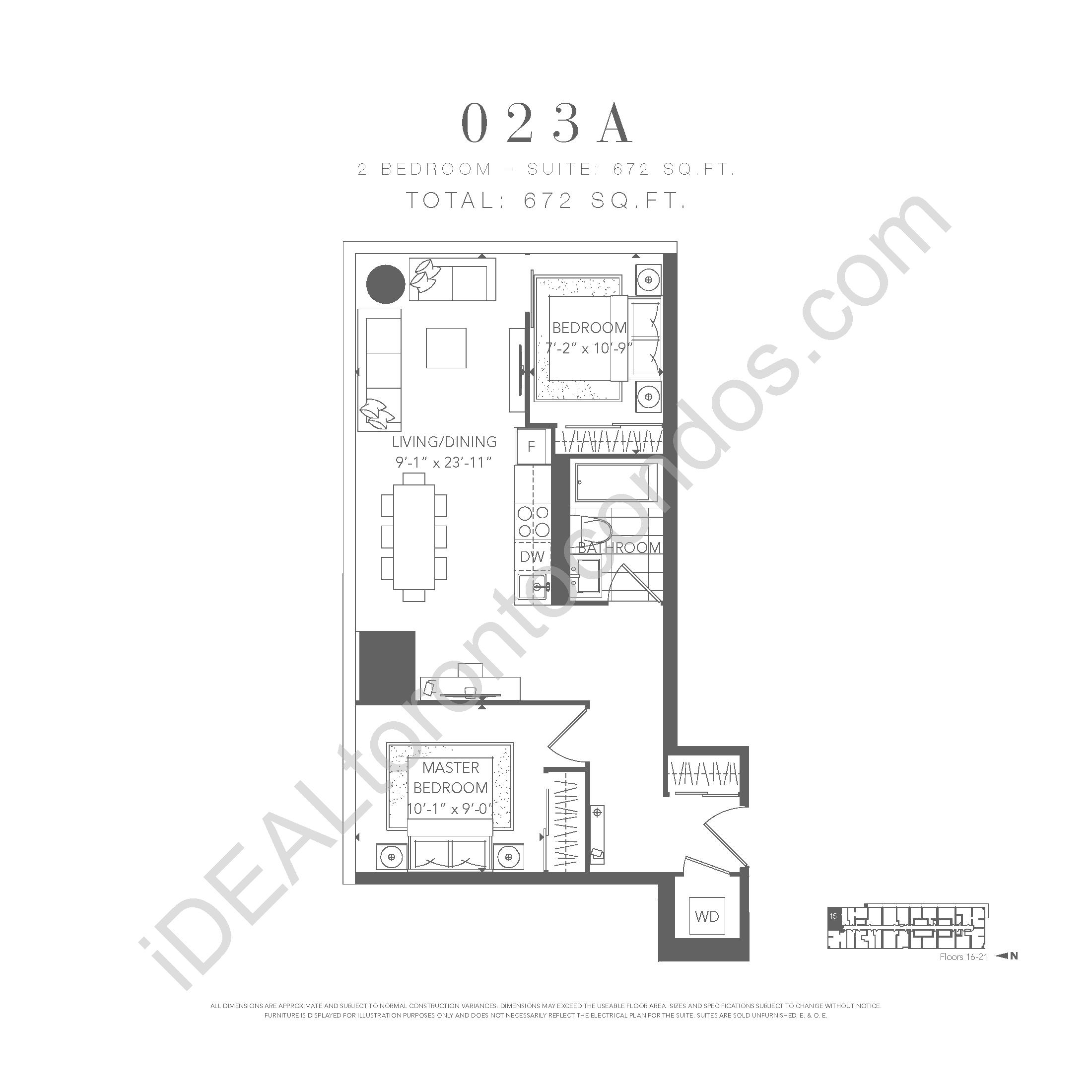 2 bedroom 023 A