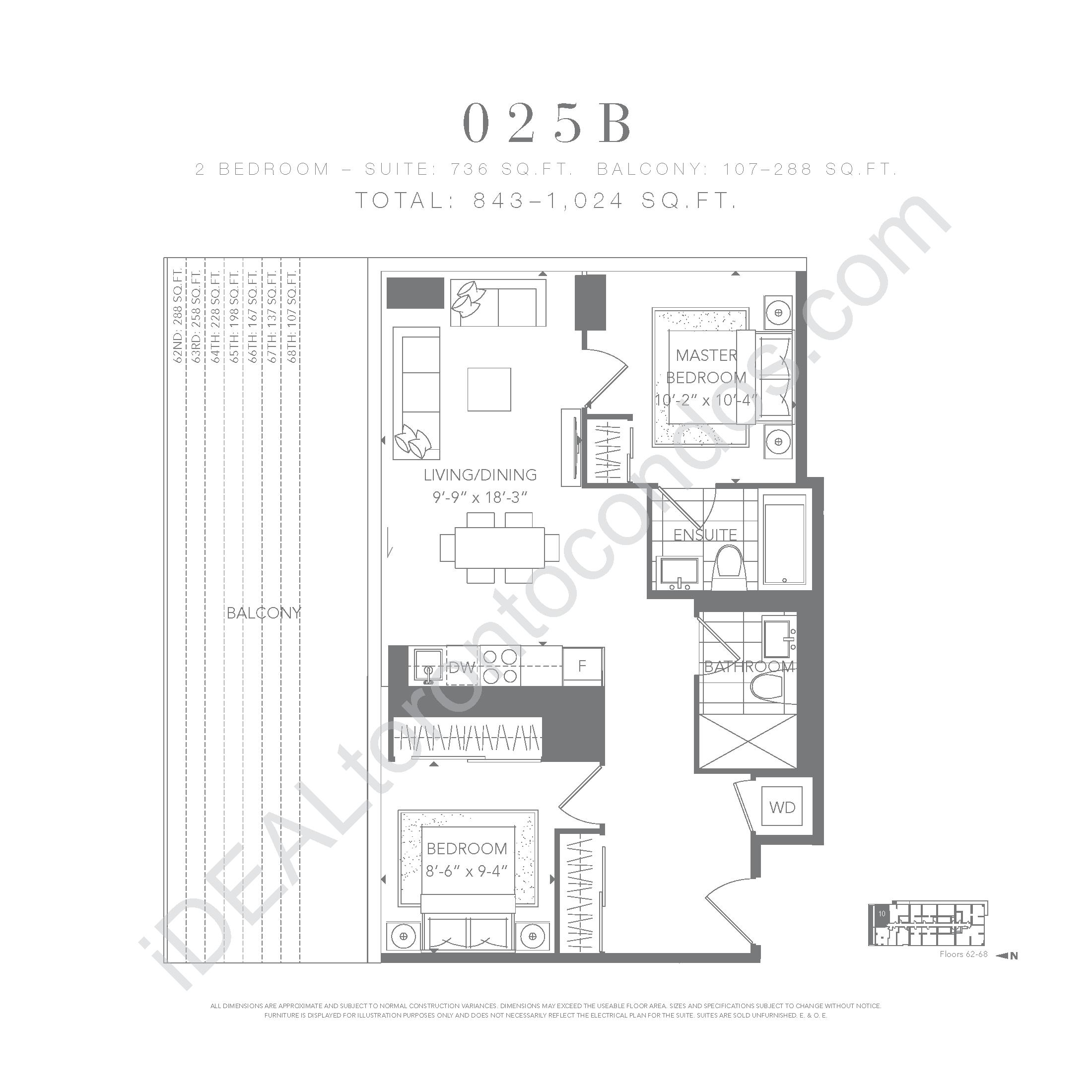2 bedroom 025 B