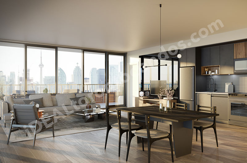 31ParliamentCondos-living-kitchen