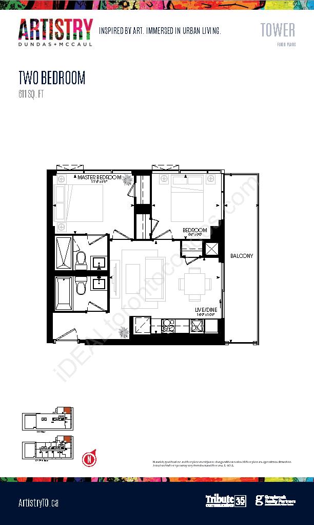 Tower - 2 Bedroom
