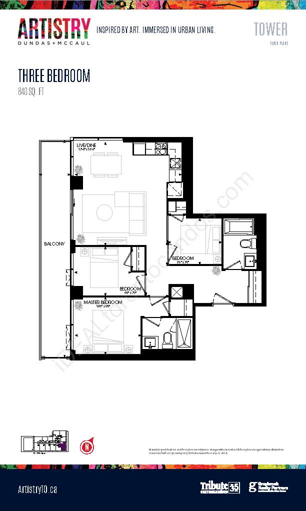 Tower - 3 Bedroom