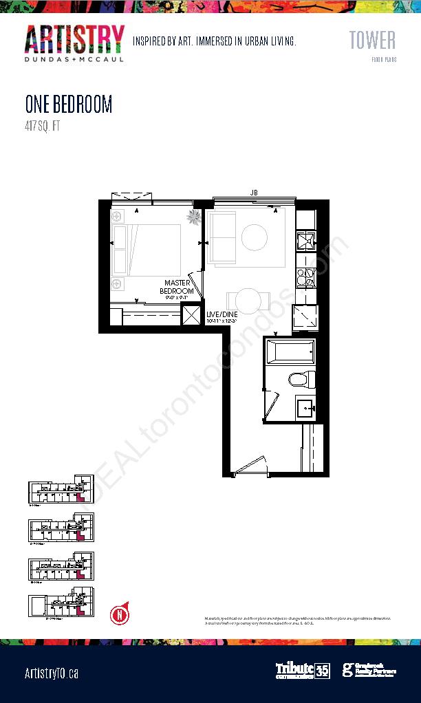 Tower - 1 Bedroom