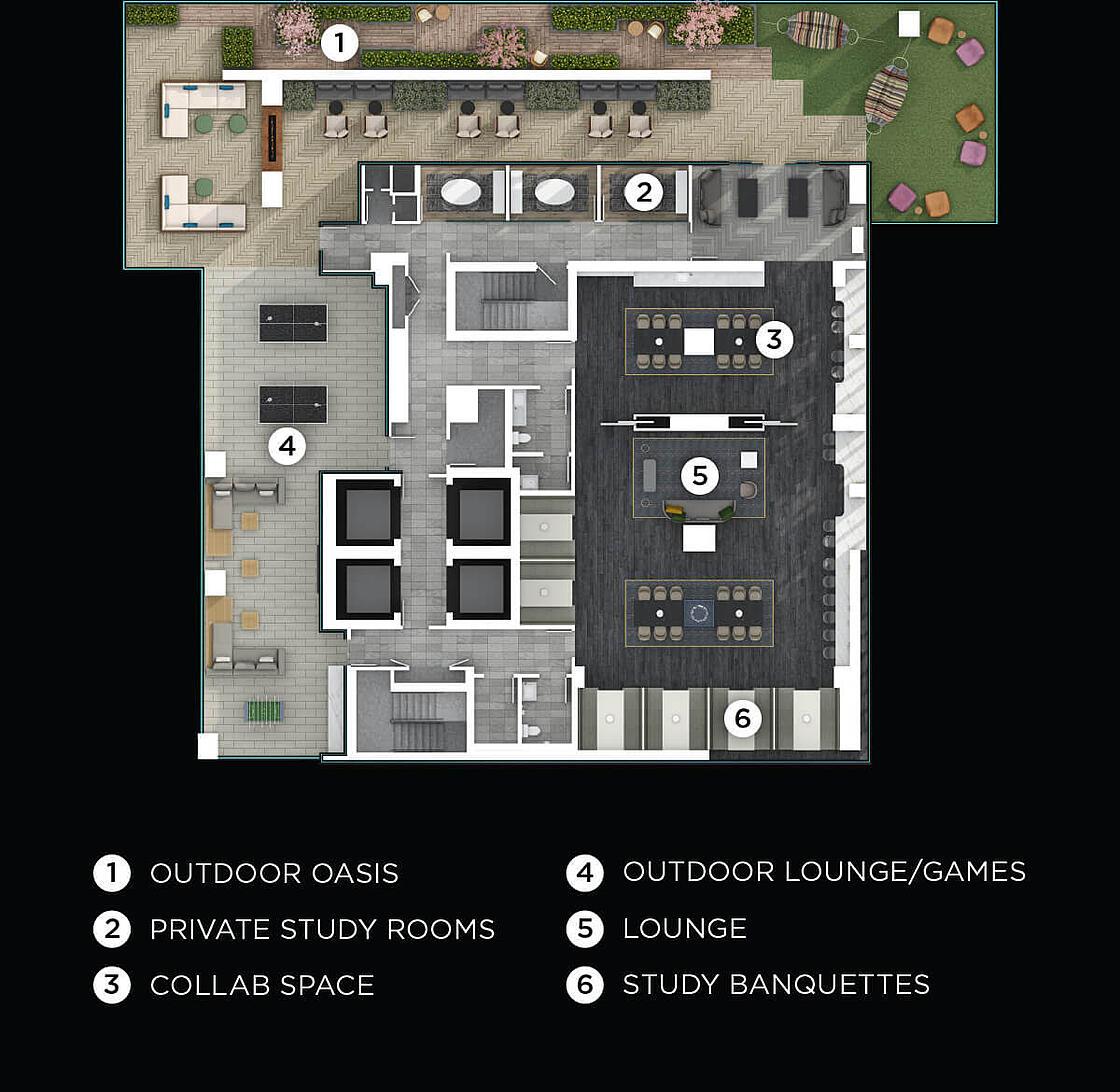 8 Wellesley amenities